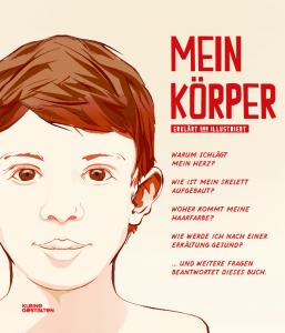 Mein Körper Buch, Kinderbuch Mein Körper vom Verlag Kleine Gestalten