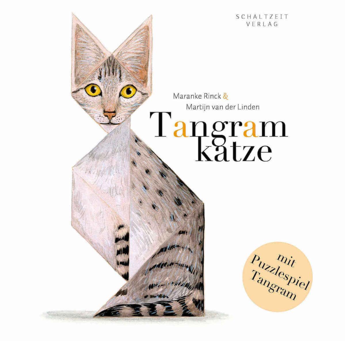 Bilderbuch mit Tangram für den Mathematikunterricht in der Grundschule