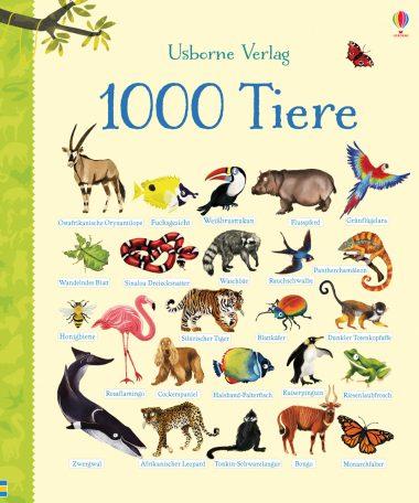 Cover Usborne 1000 Tiere