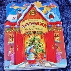 BodoBär im Weihnachtshaus_Hartmut Bieber