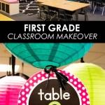 First Grade Classroom Makeover Come Take A Tour
