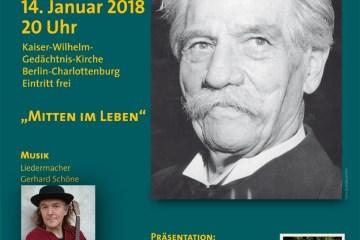 Gedenkfeier zum 143. Geburtstag Albert Schweitzers