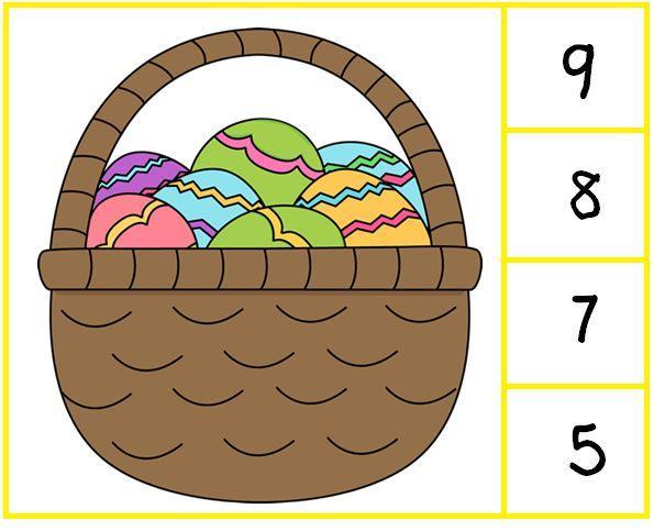 Vermenigvuldiging Pasen-werkbladen 3