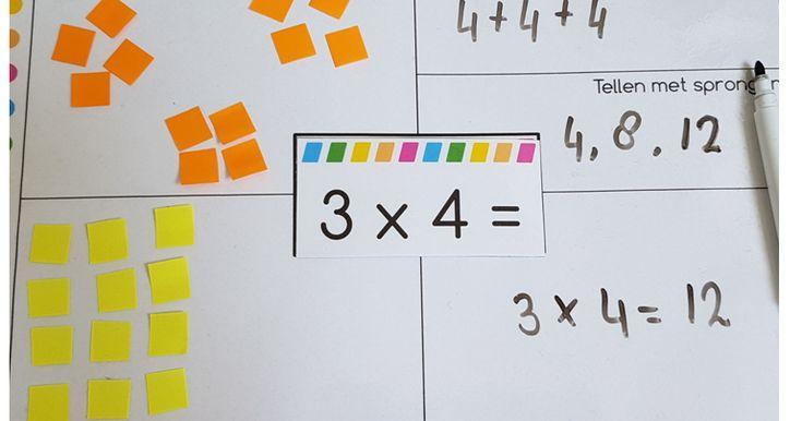 Vermenigvuldiging Werkbladen Wiskundige Hulpmiddelen 6