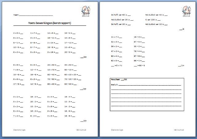 Werkbladen Voor Vermenigvuldiging Voor Het 4e Leerjaar 3