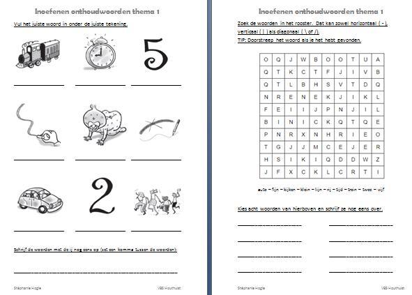 Werkbladen Voor Vermenigvuldiging Voor Leerjaar 6 4