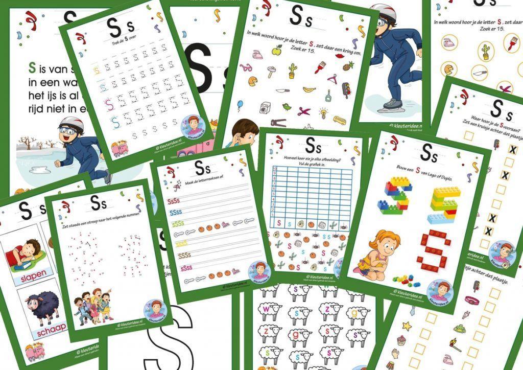 Preschool Werkbladen Afbeeldingen 2