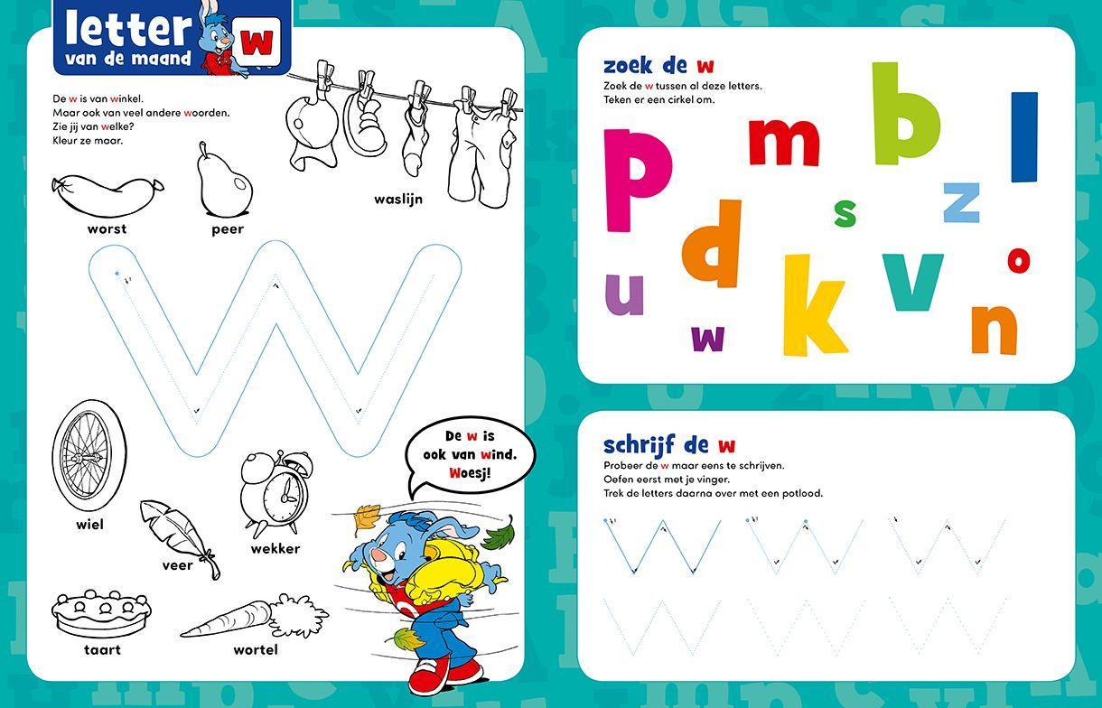Voorschoolse Werkbladen Bundel 7