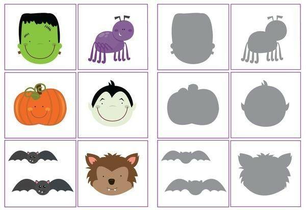 Voorschoolse Werkbladen Halloween 8