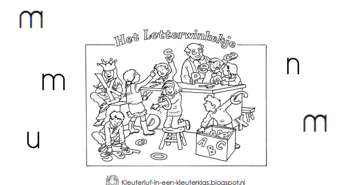 Voorschoolse Werkbladen In Het Engels 2