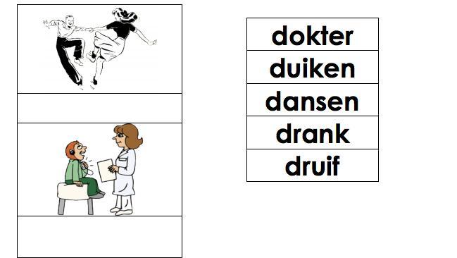 Voorschoolse Werkbladen Letter D 1