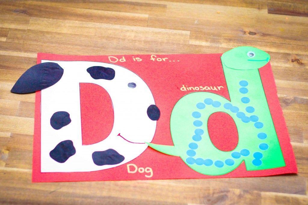 Voorschoolse Werkbladen Letter D 2
