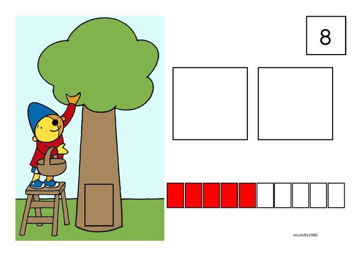 Voorschoolse Werkbladen Tellen 4
