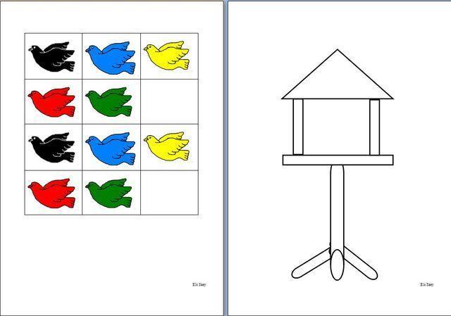 Voorschoolse Werkbladen Vogels 3