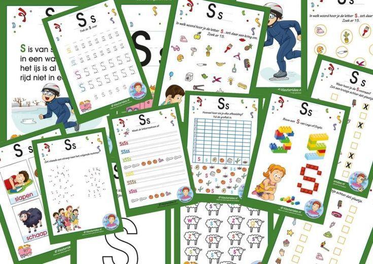 Preschool Werkbladen 4 Jaar Oud 7