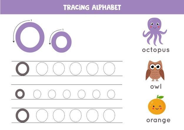 Voorschoolse Alfabet X Werkblad 5