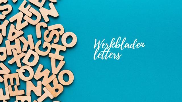 Voorschoolse Werkbladen Letter X 3