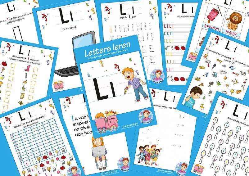 Voorschoolse Werkbladen Met Letter A 9