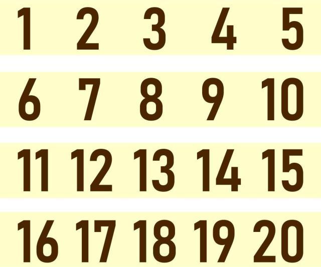 Voorschoolse Werkbladen Nummers 1-10 4
