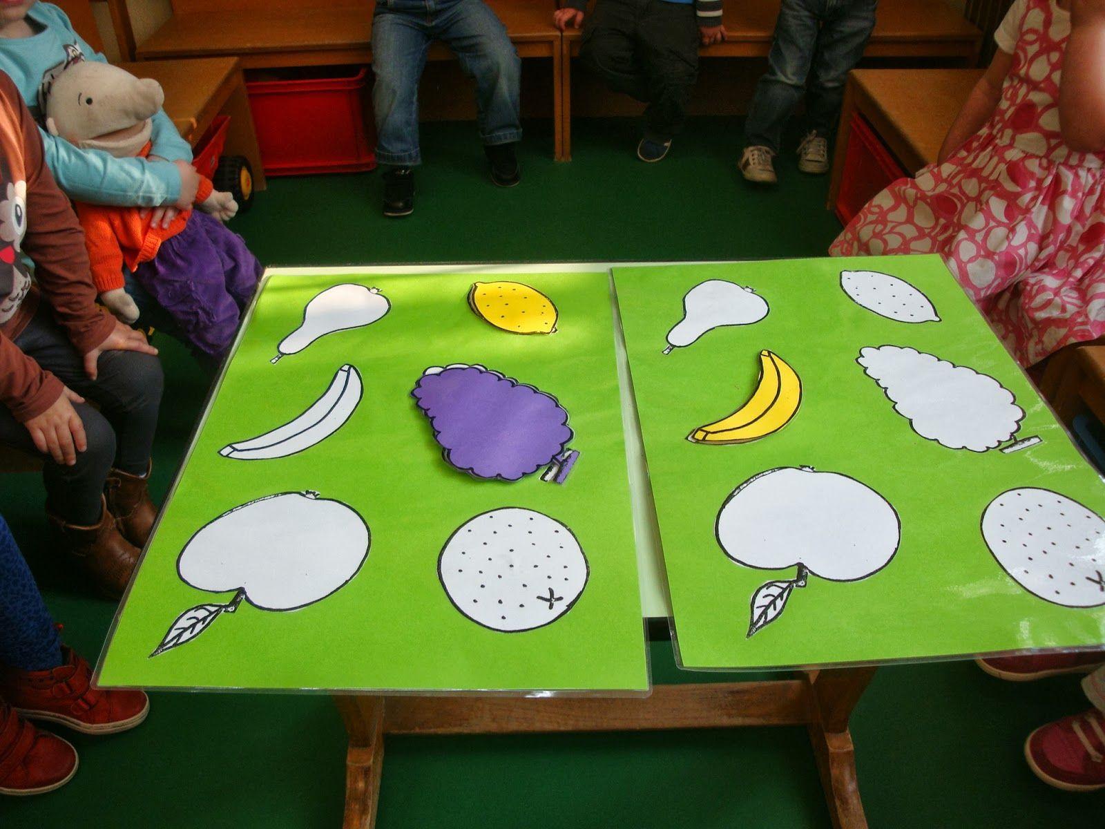 Voorschoolse Werkbladen Over Groenten En Fruit 2