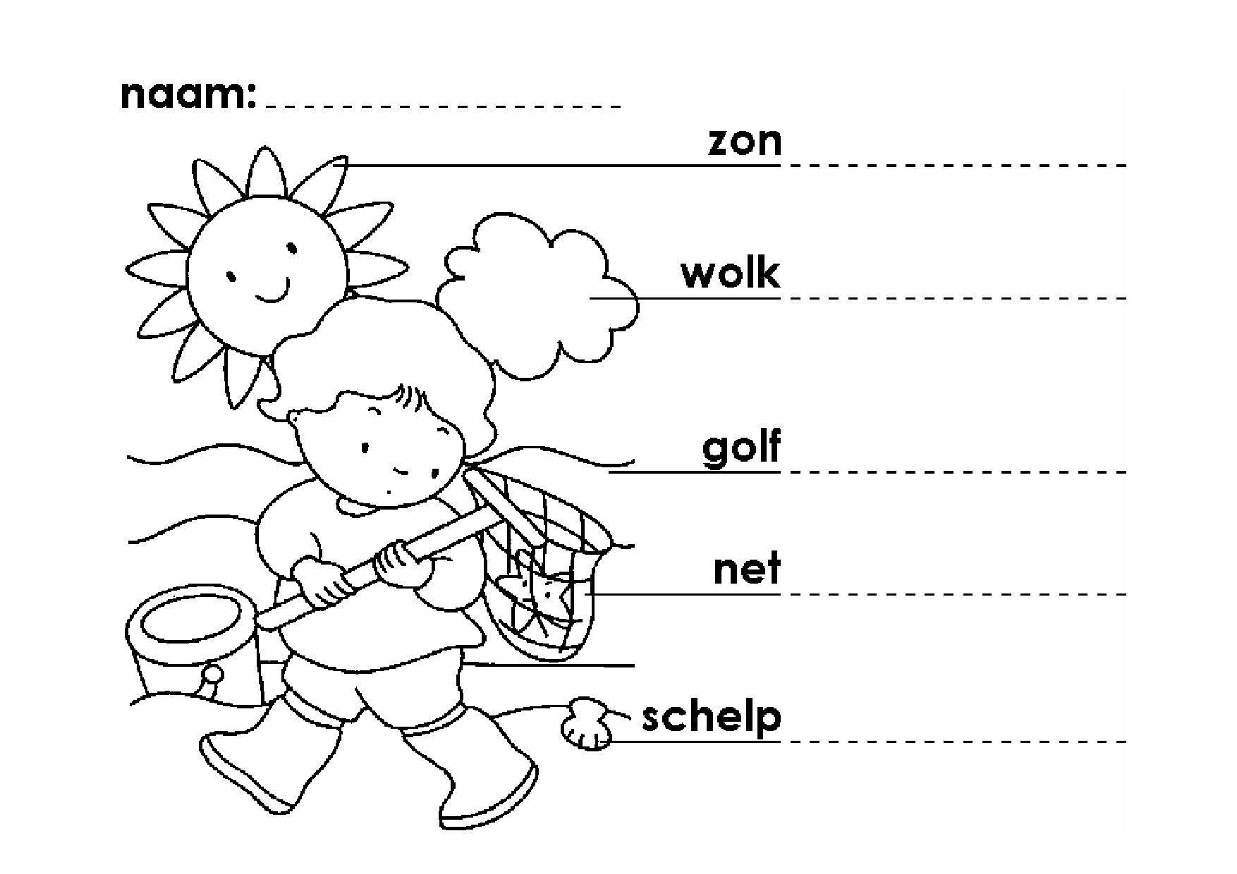 Voorschoolse Werkbladen Zomer 2