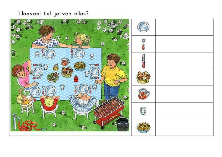 Voorschoolse Werkbladen Zomer 6