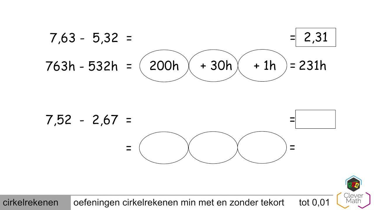 Wiskunde Werkbladen Decimalen 9