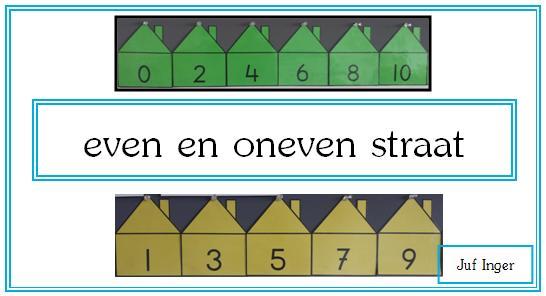 Wiskunde Werkbladen Even En Oneven Getallen 6