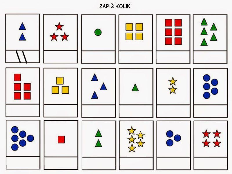 Wiskunde Werkbladen Kleuren 1