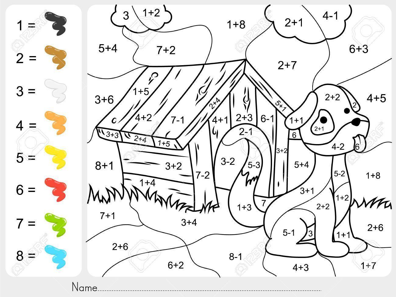 Wiskunde Werkbladen Kleuren 4