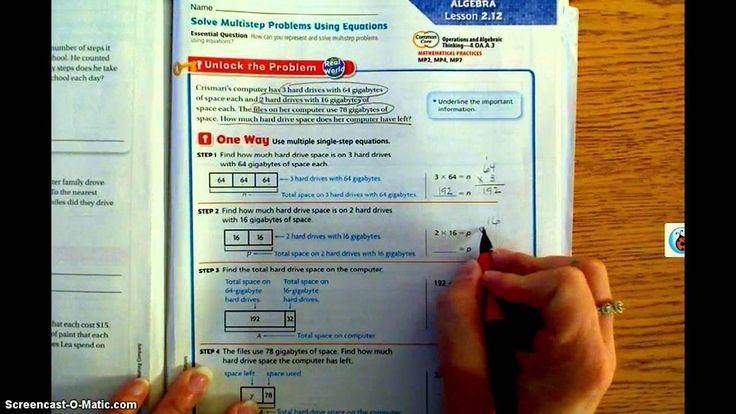 Wiskunde Werkbladen Middelbare School Algebra 7