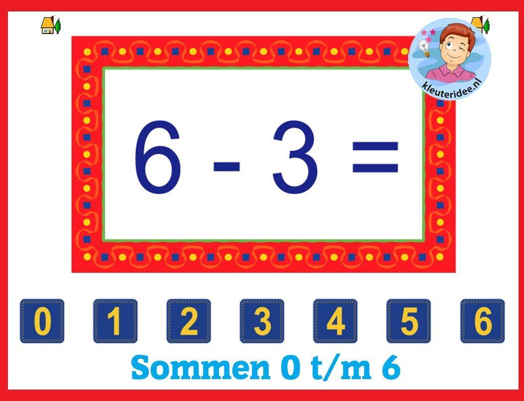 Wiskunde-werkbladen Voor Kinderen 8