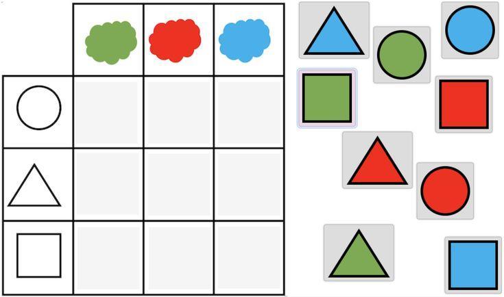 Wiskundige Werkbladen Uitgevouwen Vorm 1