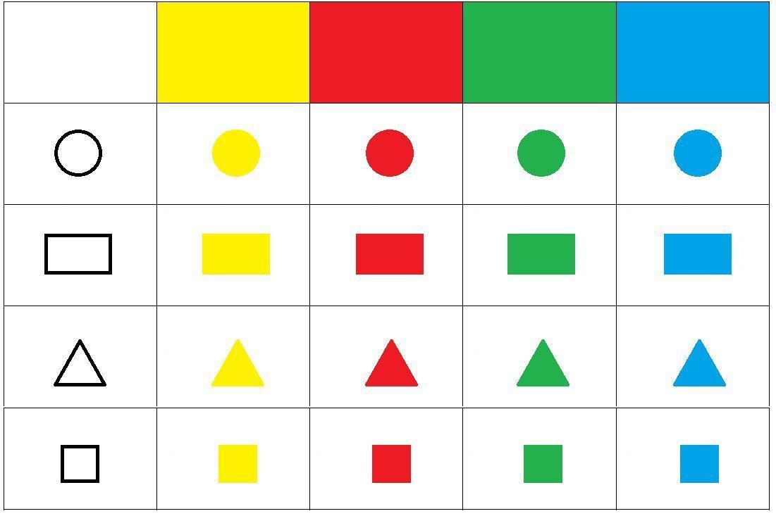 Wiskundige Werkbladen Uitgevouwen Vorm 3