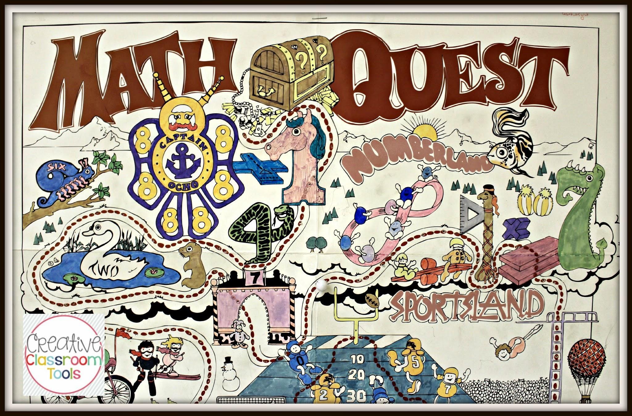 Math Quest Werkbladen 1