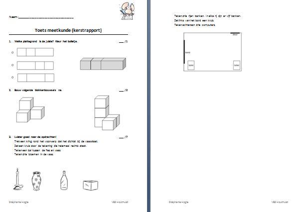 Meeteenheden Voor Wiskunde-werkbladen 3