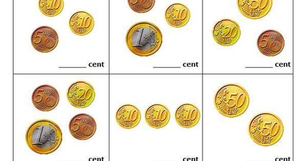 Wiskunde Werkbladen Geld 4
