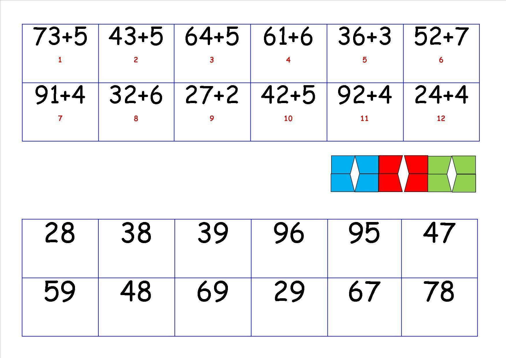Wiskunde-werkbladen Met Afbeeldingen 1