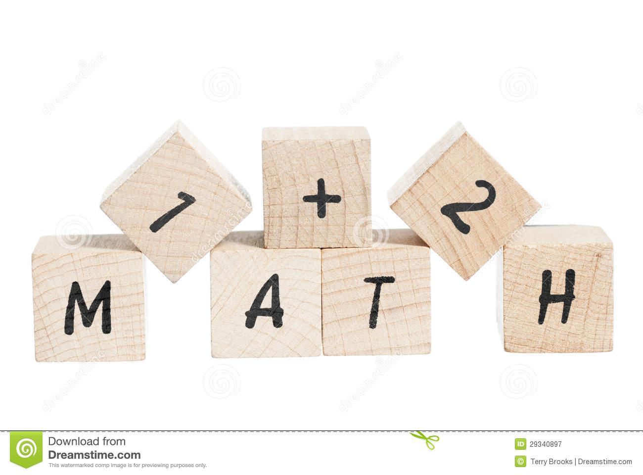 Wiskunde-werkbladen Met Basis Tien Blokken 1