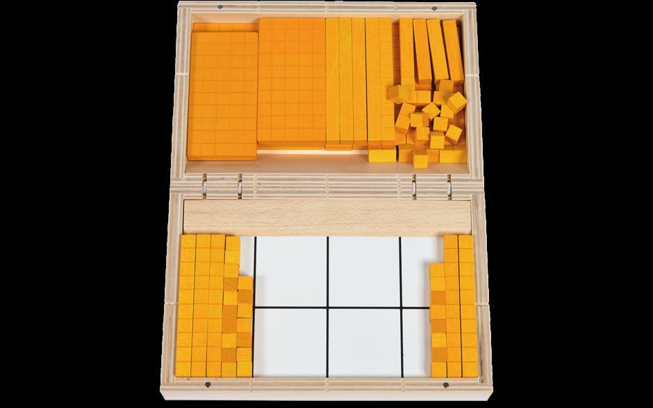 Wiskunde-werkbladen Met Basis Tien Blokken 3