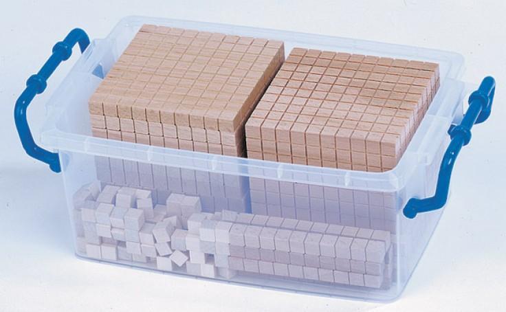 Wiskunde-werkbladen Met Basis Tien Blokken 6