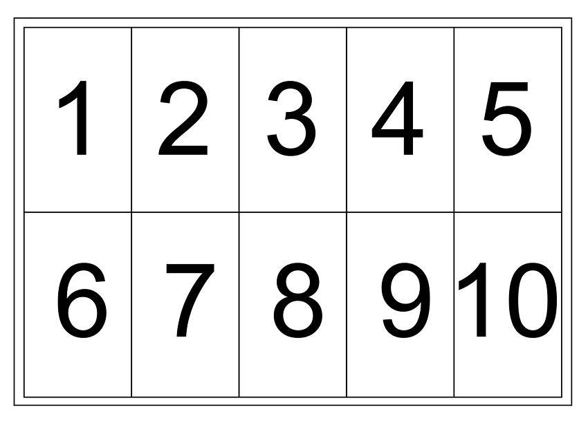 Wiskunde Werkbladen Nummers 1-10 6