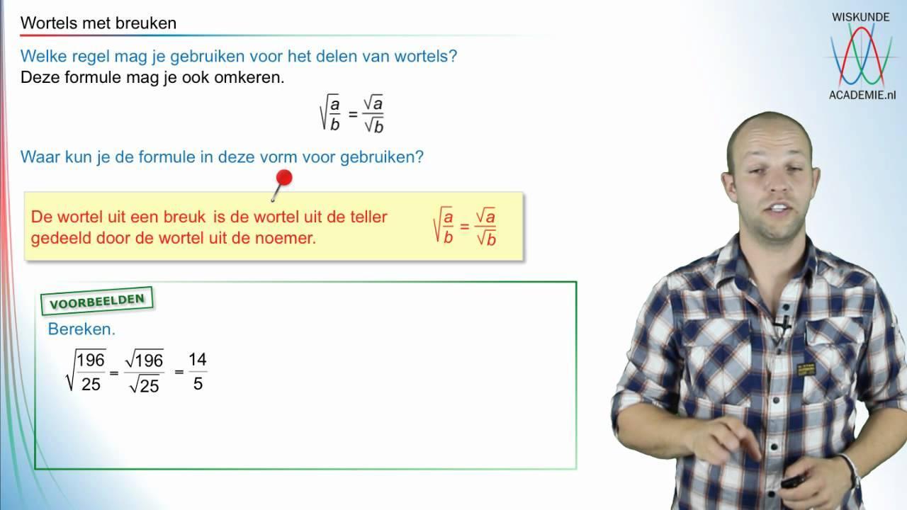 Wiskunde-werkbladen Over Breuken 1
