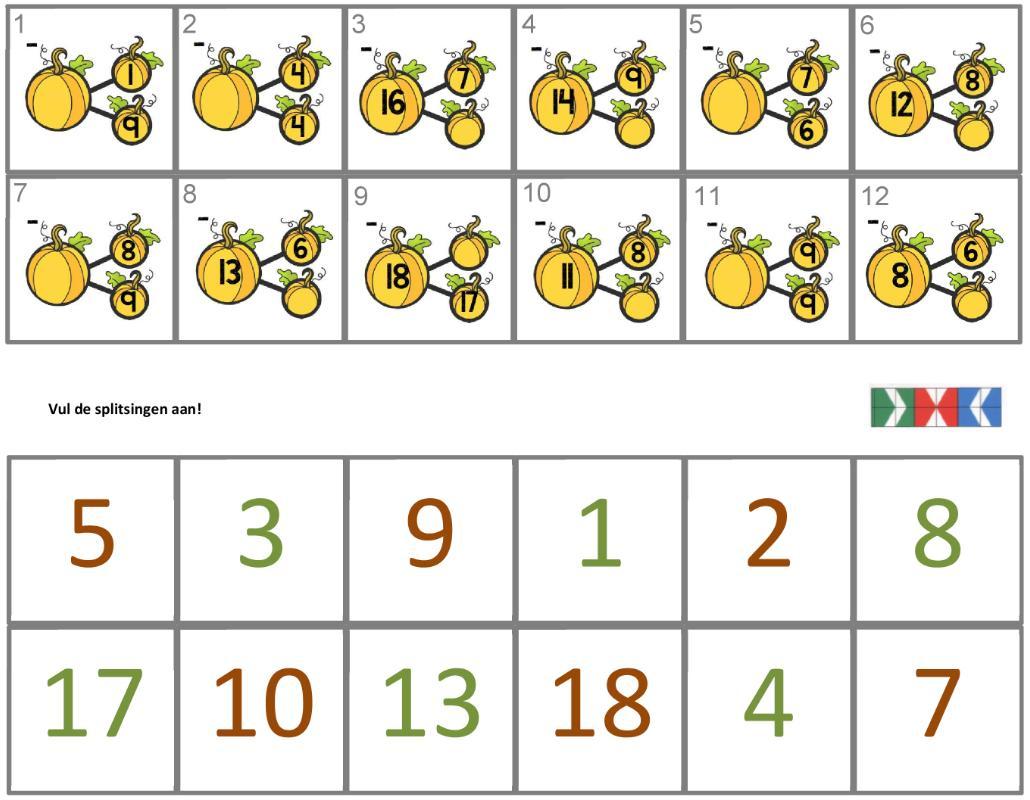Wiskundige Kwadranten Werkbladen 4