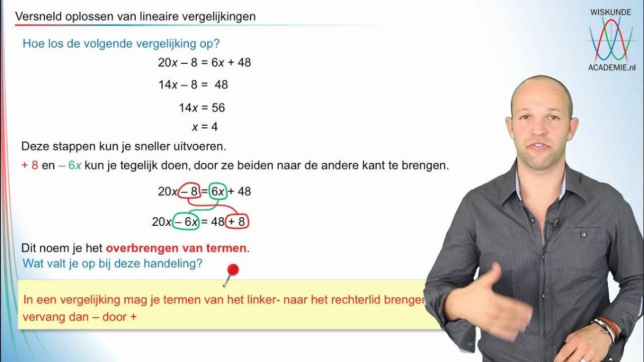 Wiskundige Werkbladen Lineaire Vergelijkingen 3