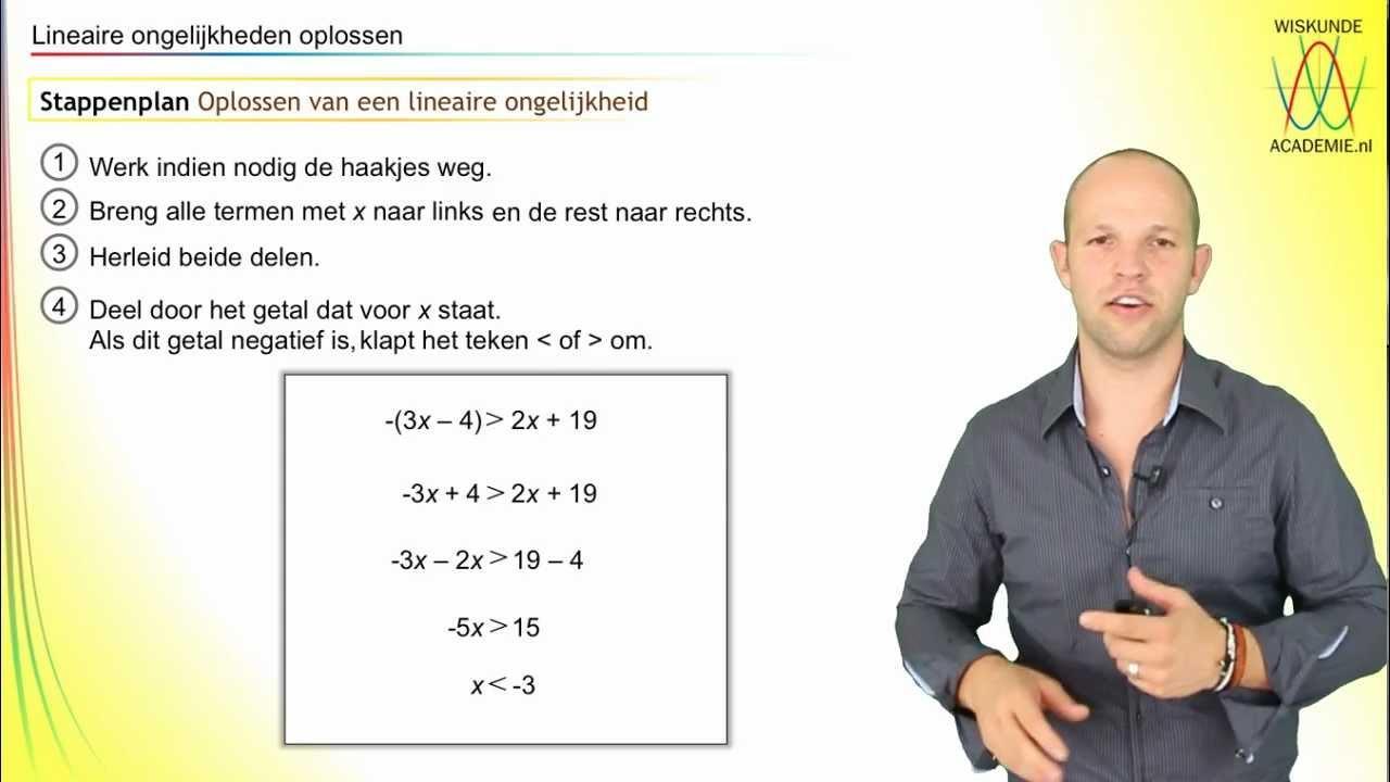 Wiskundige Werkbladen Lineaire Vergelijkingen 5