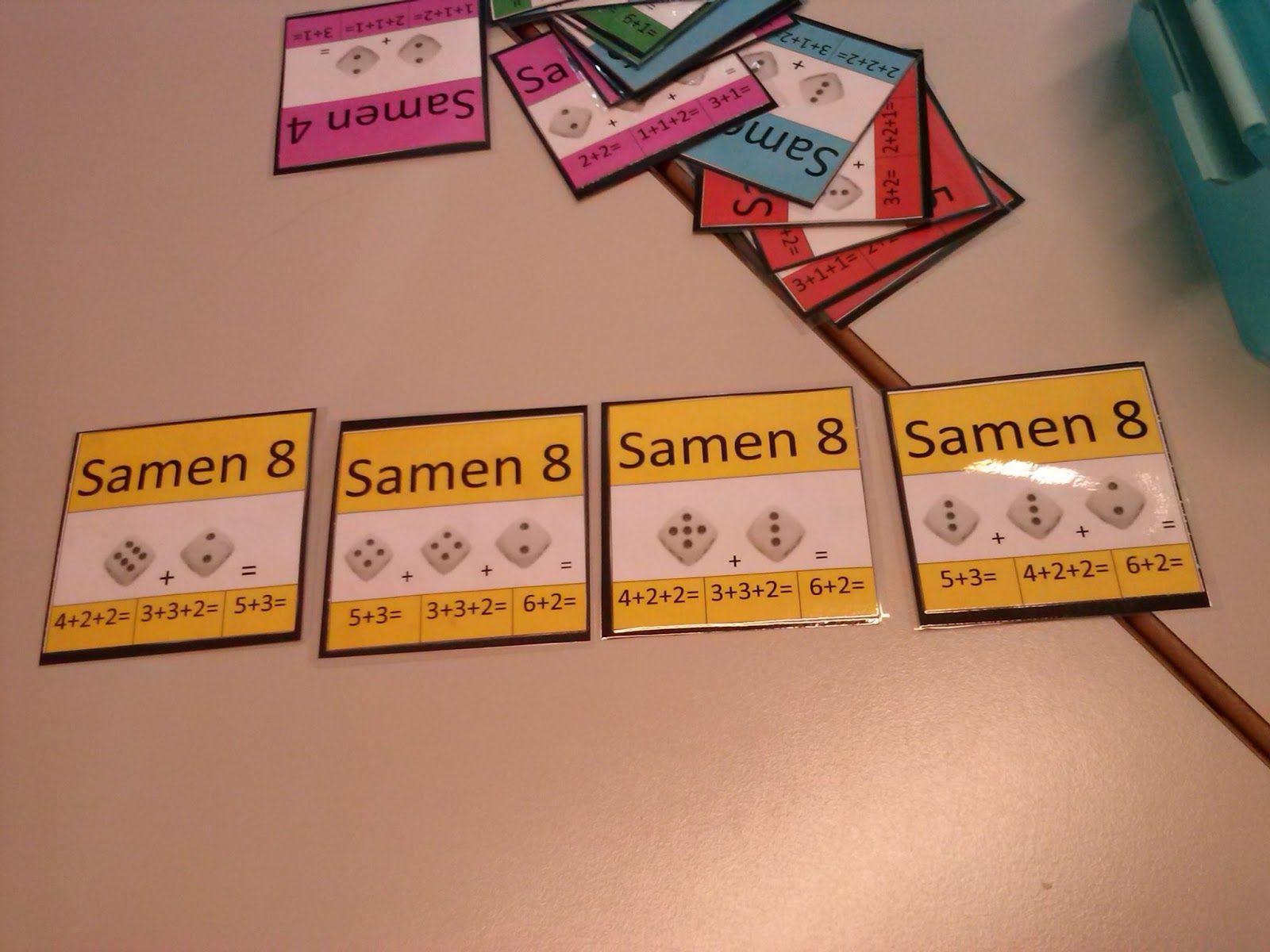 Wiskundige Werkbladen Met Dobbelstenen 8