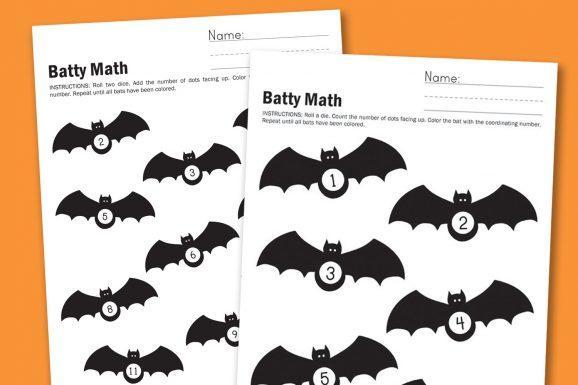 Algebra Halloween-werkbladen 5