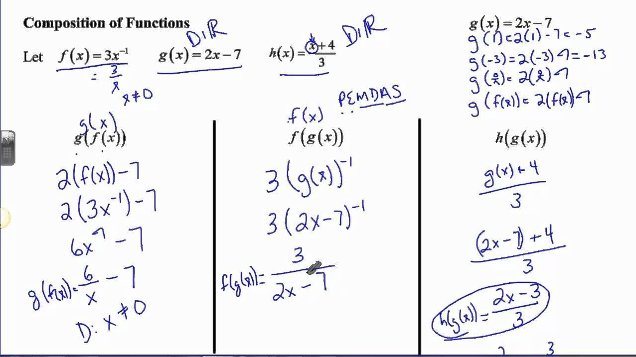 Algebra Ii-werkbladen 6