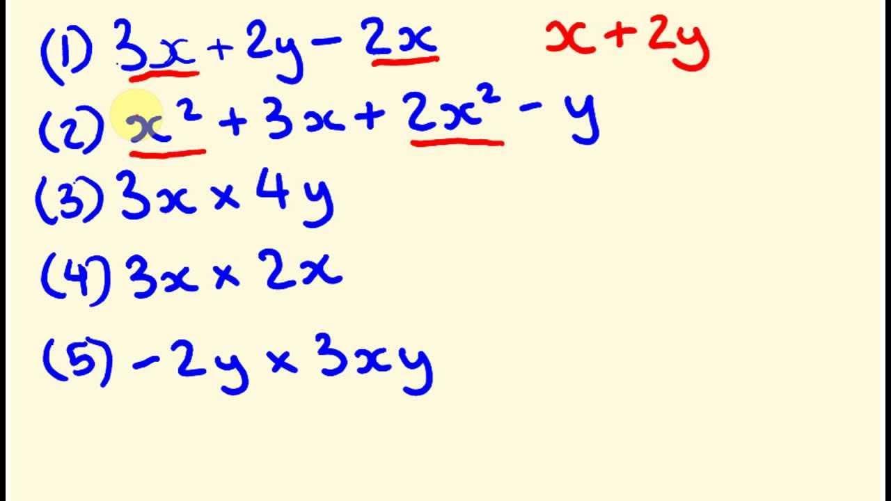 Algebra Introductie Werkbladen 2